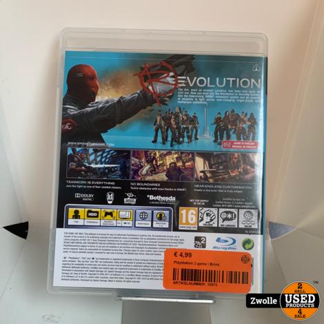 Playstation 3 game | Brink