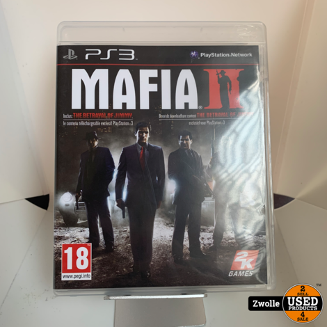 Playstation 2 Game | Mafia 2