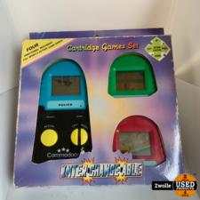 Inter Change Able cartridge games set retro handheld