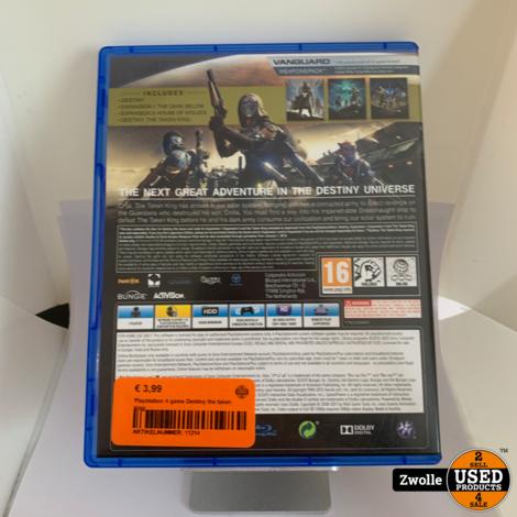 Playstation 4 game Destiny the taken king