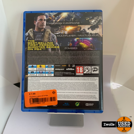 Playstation 4 game call of duty infinite warfare