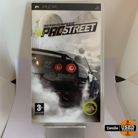 PSP Game Need For Speed Prostreet
