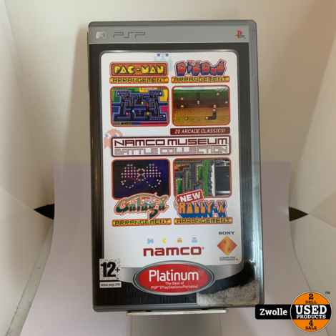 PSP Game Namco Museum Battle Collection
