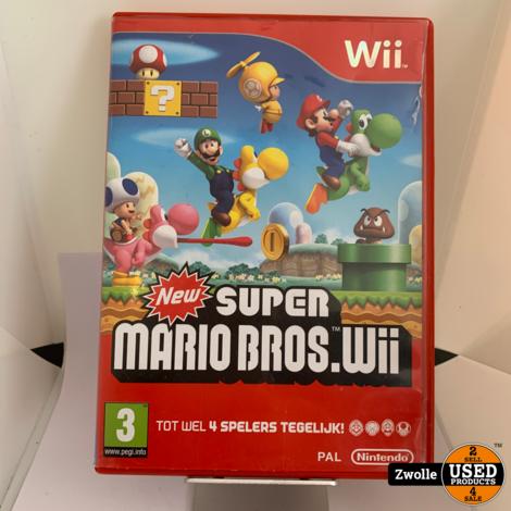 Wii Game New Super Mario Bros.Wii