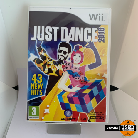 Wii Game Just Dance 2016