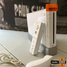Wii console compleet met controller