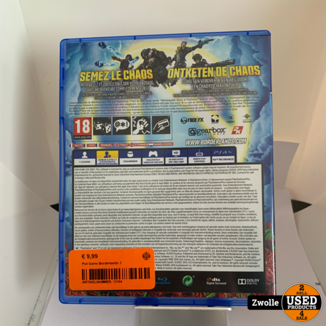 Ps4 Game Borderlands 3