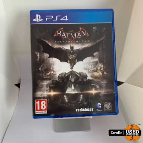 Playstation 4 game Batman Arkham Knight