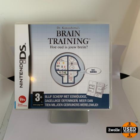 Nintendo DS Game Brain Training