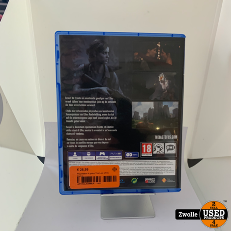 Playstation 4 game The Last of Us Part II