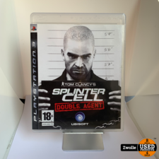 Playstation 3 Game   Splinter Cell: Double Agent