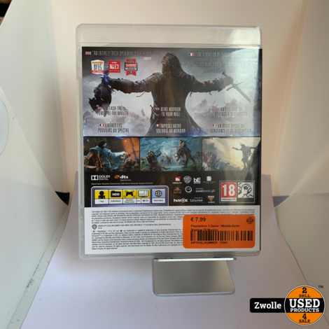 Playstation 3 Game | Middle-Earth: Shadow Of Mordor