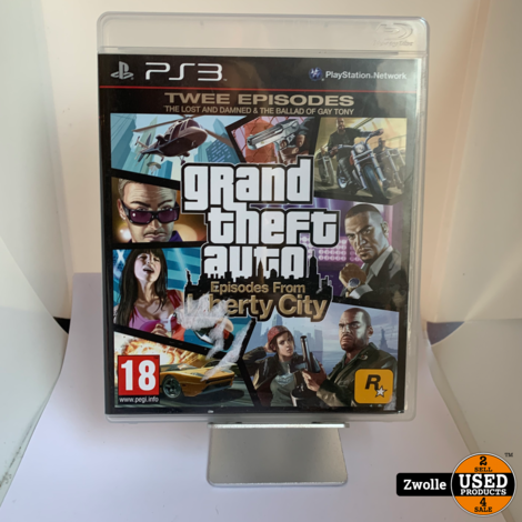 Playstation 3 Game   Grand Theft Auto IV & Episodes From Liberty City