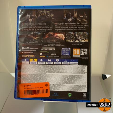 ps 4 game | Monster Hunter: World