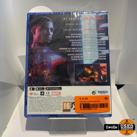 Playstation 5 game Spider-Man | Nieuw geseald
