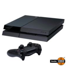 Playstation 4 Phat   500 GB   Met blauwe controller