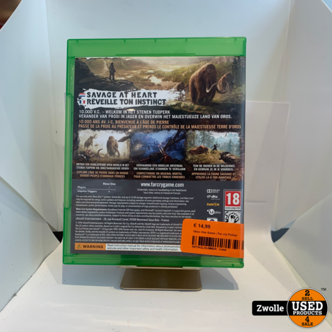 Xbox One Game | Far cry Primal