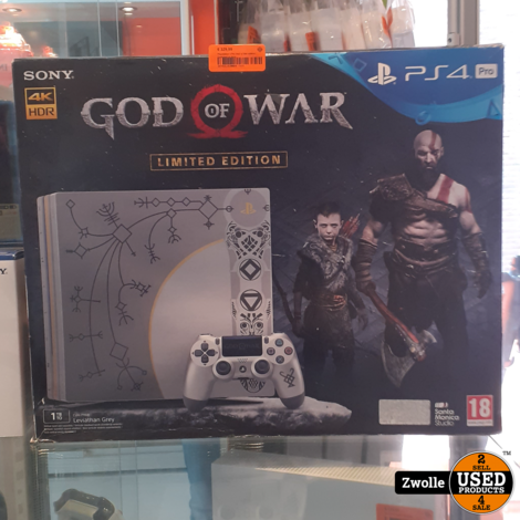 Playstation 4 Pro God of War edition | Compleet in doos