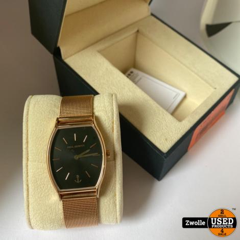 Paul Hewitt PH-T-R-BS-4S Horloge Line Black Sunray Rosekleurig-Zwart 30 MM