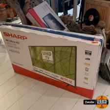 SHARP 50BJ2E 50inch 4K Ultra-HD Smart | Nieuw open doos