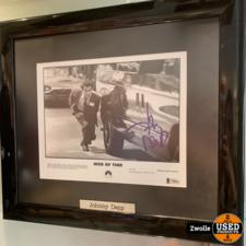 Johhny Depp handtekening | met Beckett certificaat.
