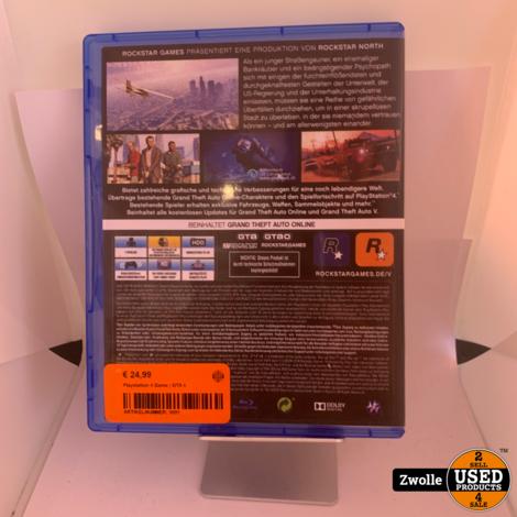 Playstation 4 game | GTA V