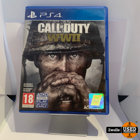 Playstation 4 Call of Duty WWII