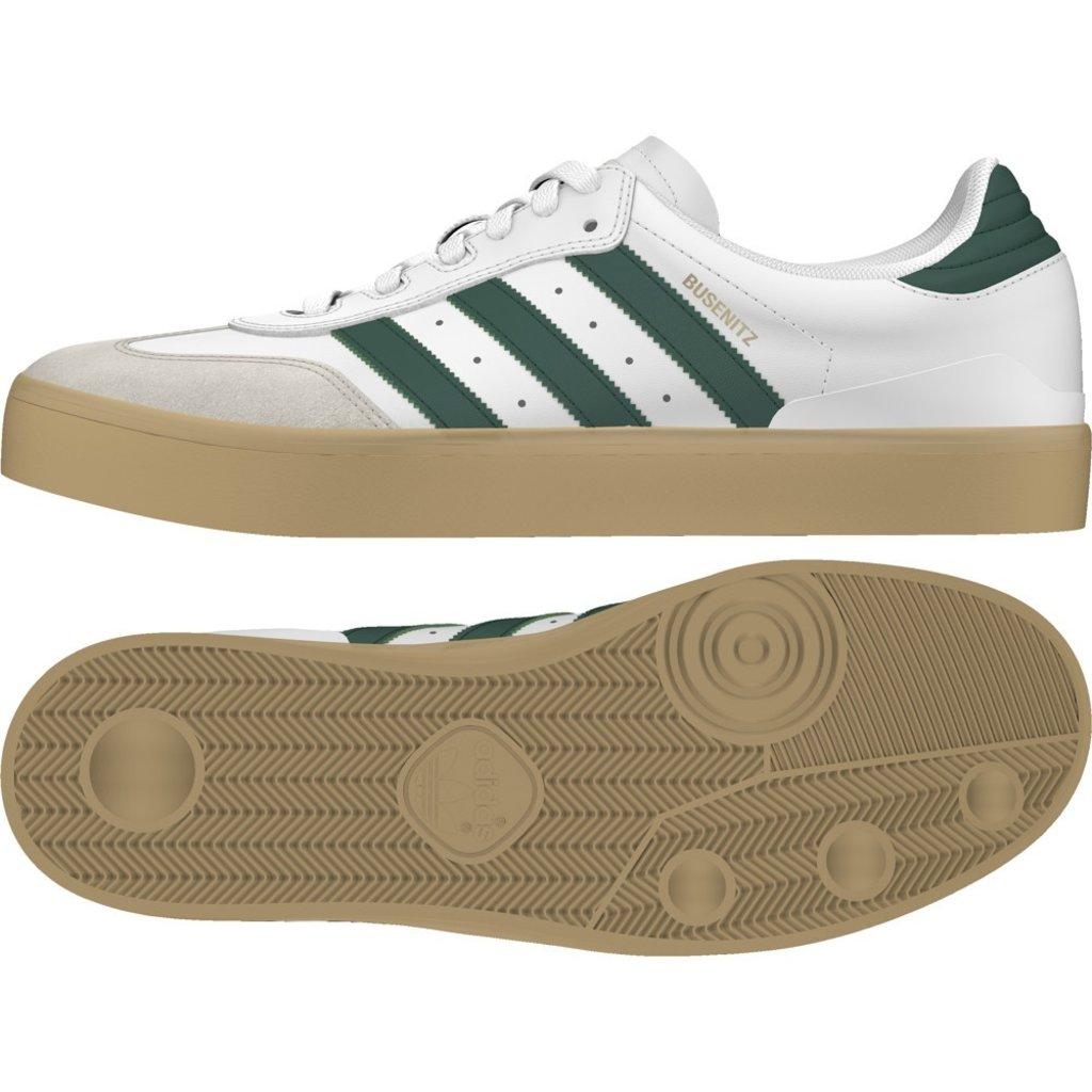 adidas adidas Busenitz Vulc RX White / Collegiate Green / Gum 2