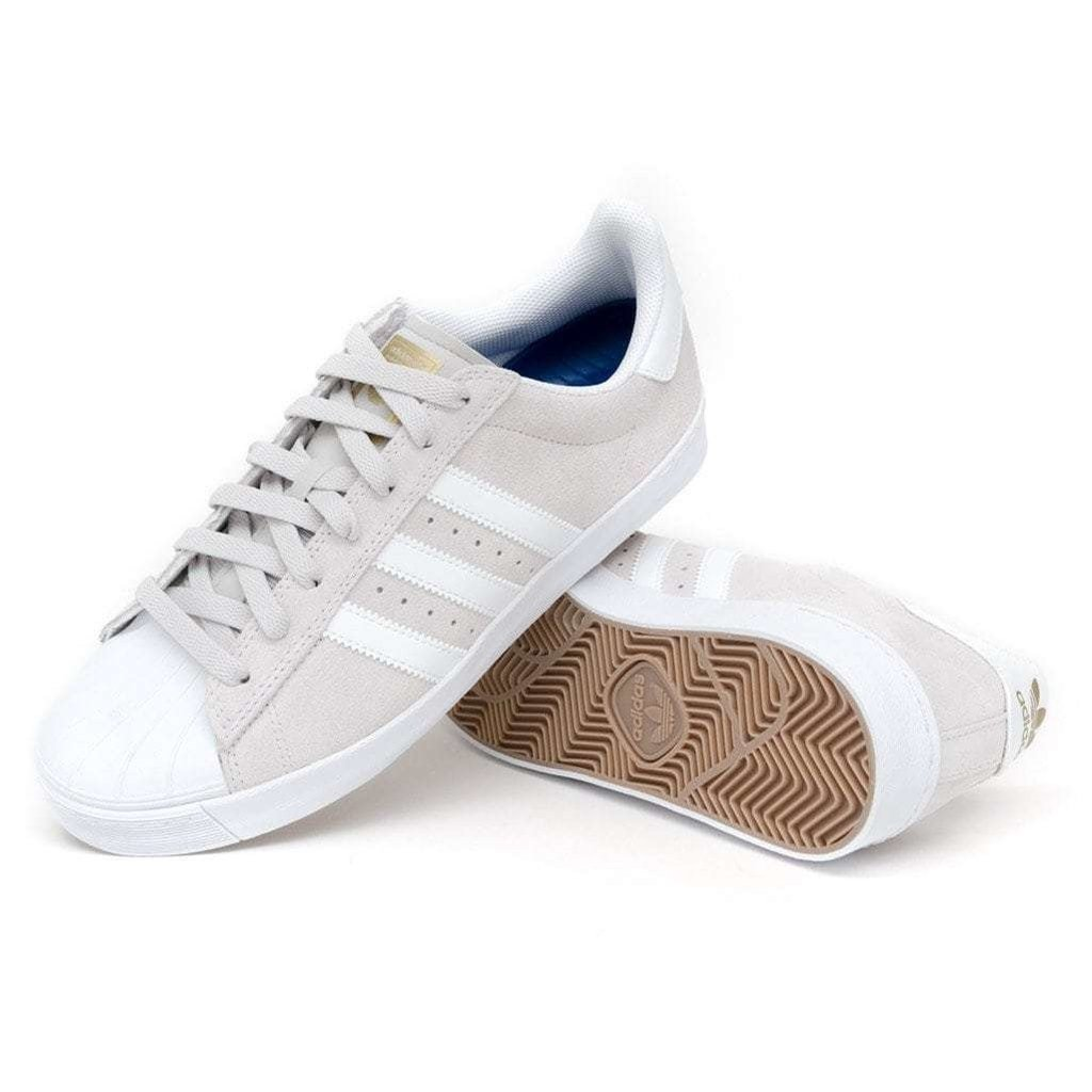adidas adidas Superstar Vulc ADV Grey One / FTW White / Gold