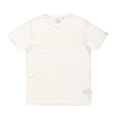 Afends Afends Classic Hemp Standard Fit Tee White