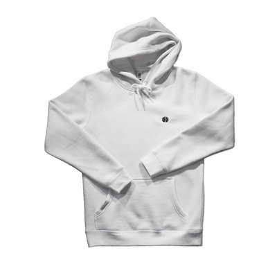 Behind The Pines Behind The Pines Essential Hoodie White