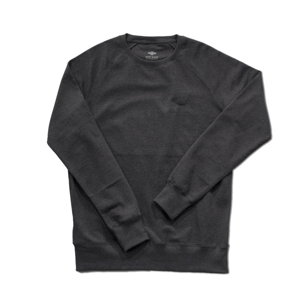 Behind The Pines Behind The Pines Recycled Crewneck Anthracite