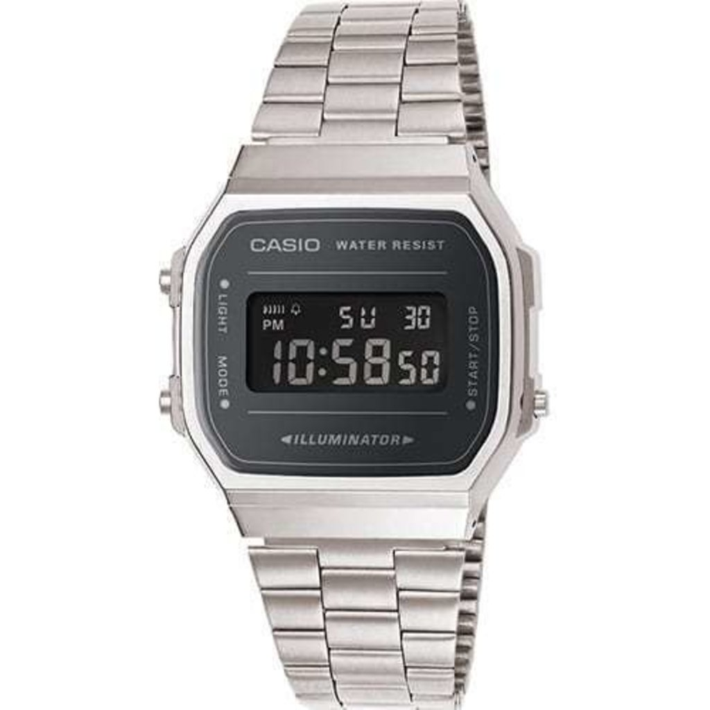 Casio Casio Wrist Watch Digital A168WEM-1EF Horloge