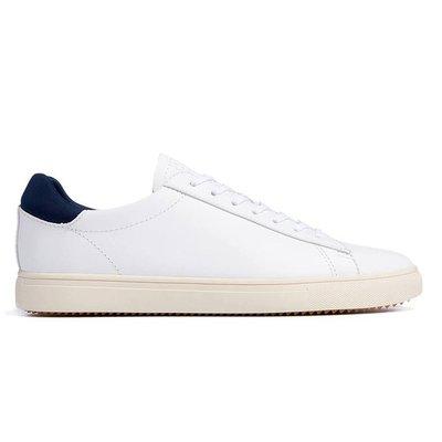 Clae Clae Bradley White Leather