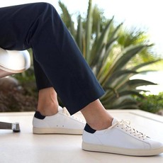 Clae Clae Bradley White Leather