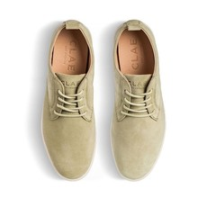 Clae Clae Ellington Suede Aloe Green