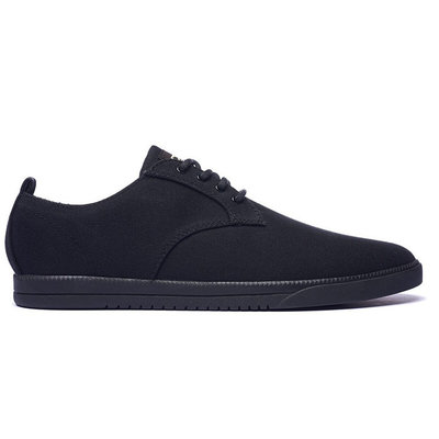 Clae Clae Ellington Textile Black Waxed Canvas
