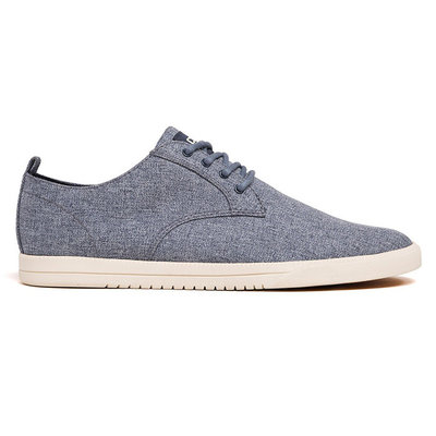 Clae Clae Ellington Textile Navy Chambray