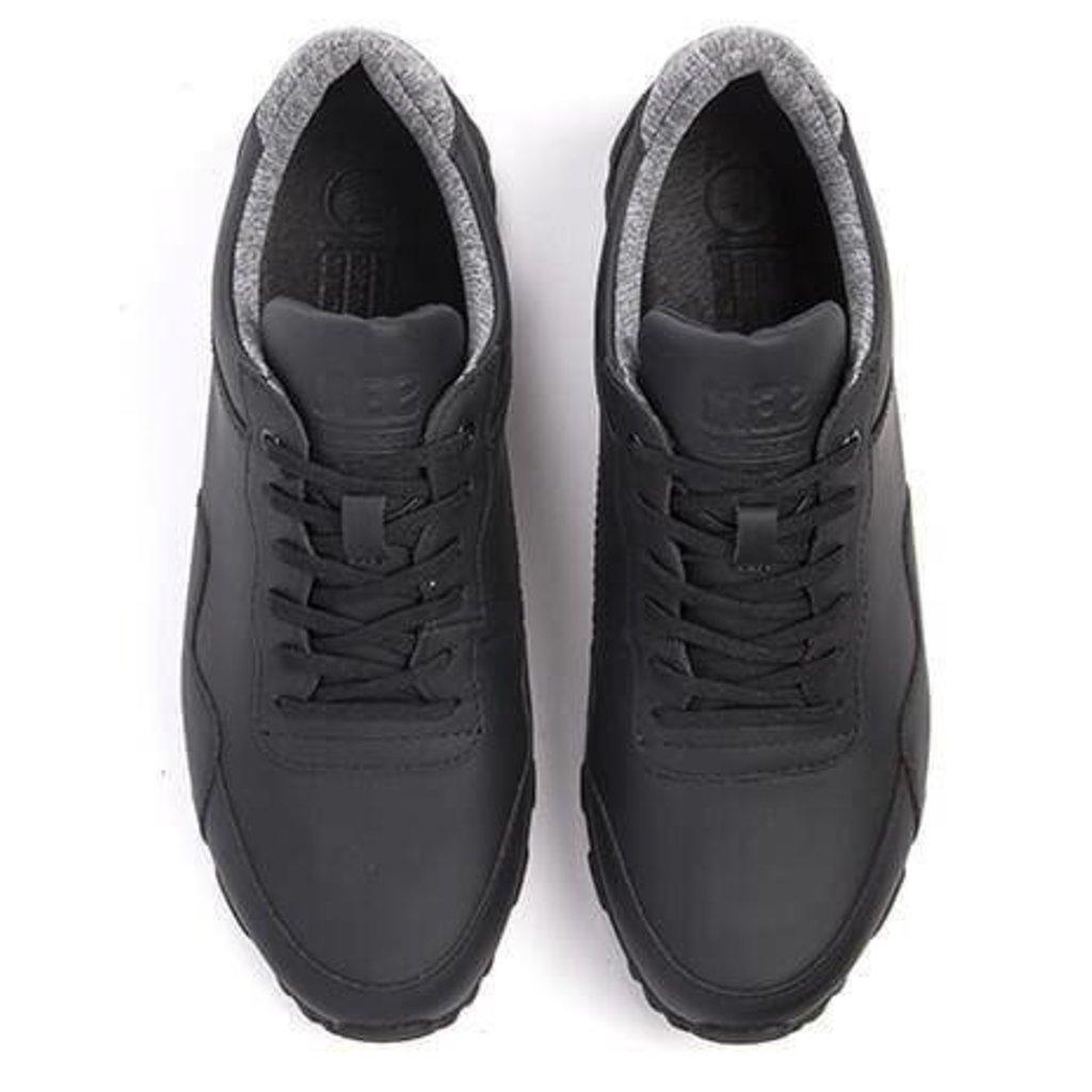 Clae Clae Hoffman Black Coated Leather
