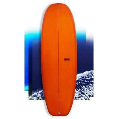 Fernand surfboards Fernand Surfboard Numero 2 Mini Simmons Burnt Orange 5'5