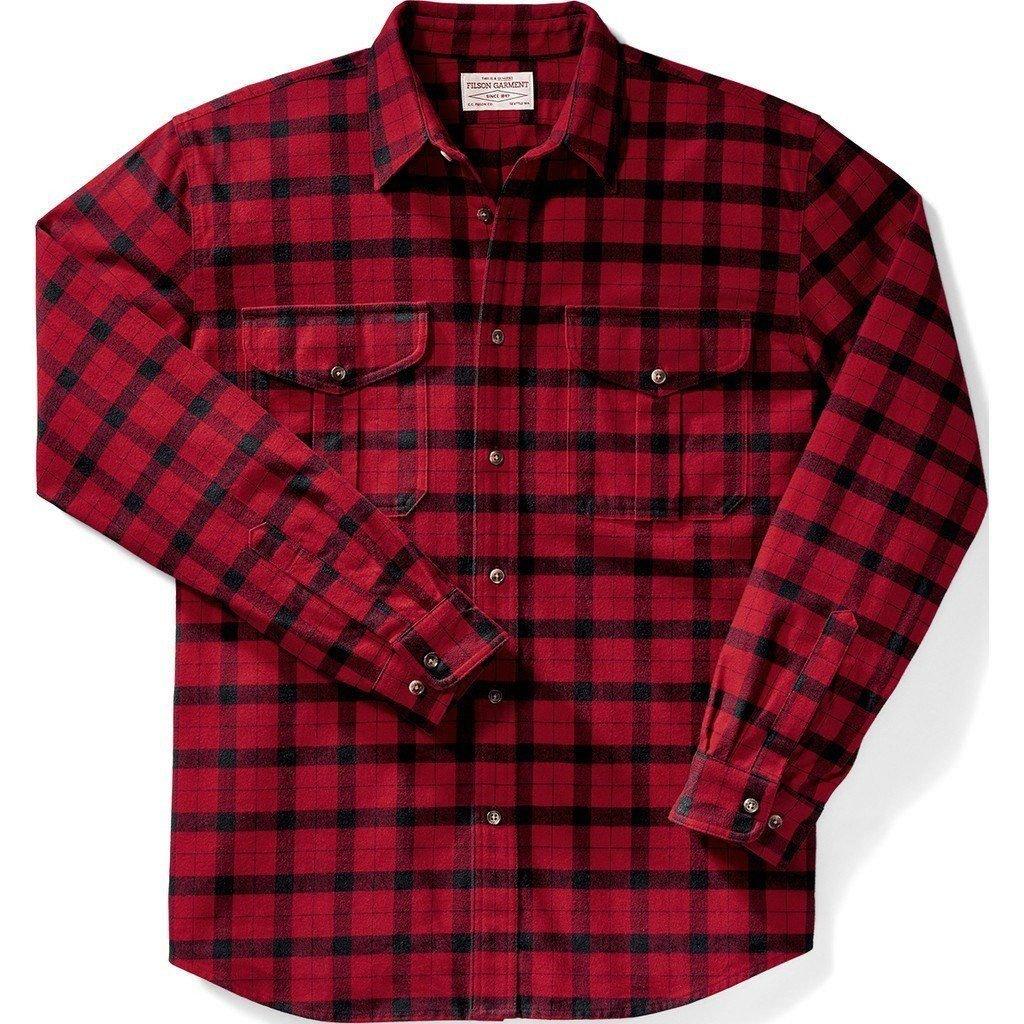 Filson Filson Alaskan Guide Shirt Red/Black