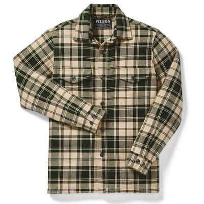 Filson Filson Deer Island Jac-Shirt Dark Cream / Green Plaid