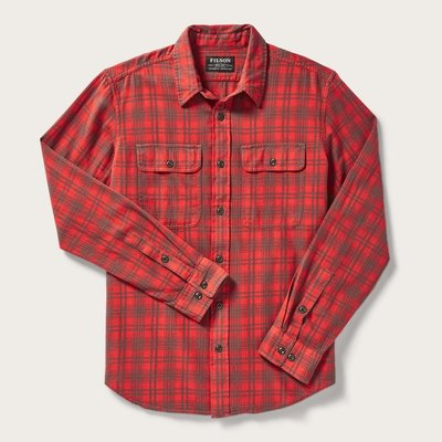 Filson Filson Scout Shirt Red / Olive Plaid