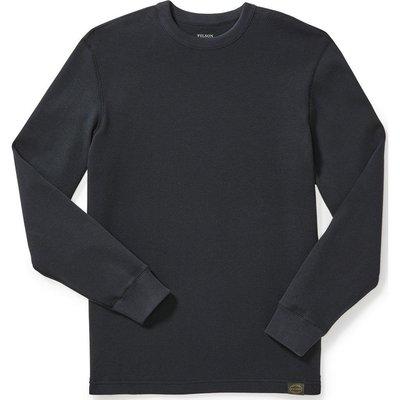 Filson Filson Waffle Knit Thermal Crewneck Black