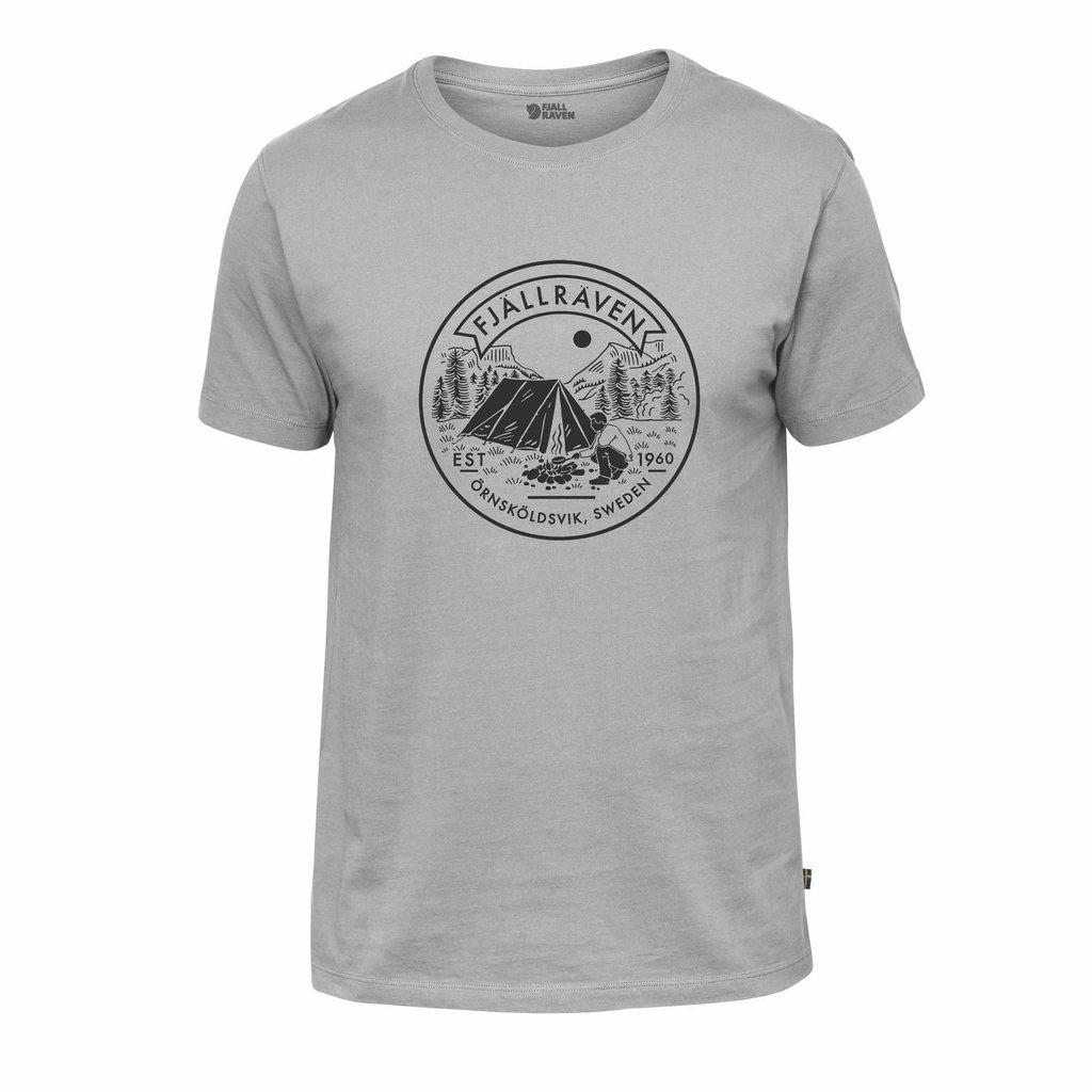 Fjallraven Fjallraven Lagerplatz T-Shirt Grey