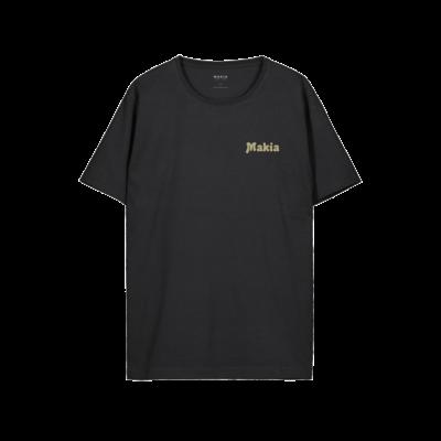 Makia Makia Fast T-Shirt Black