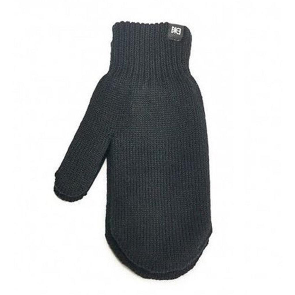 Makia Makia Flag Wool Mittens Black