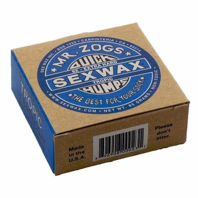 Mr Zogs Mr. Zogs Sexwax - 6x Extra Hard (Basecoat) / Tropic