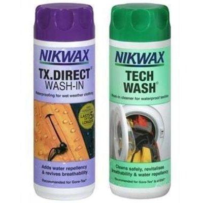Nikwax Nikwax Twin Pack - Tech Wash. TX Direct Wash-in