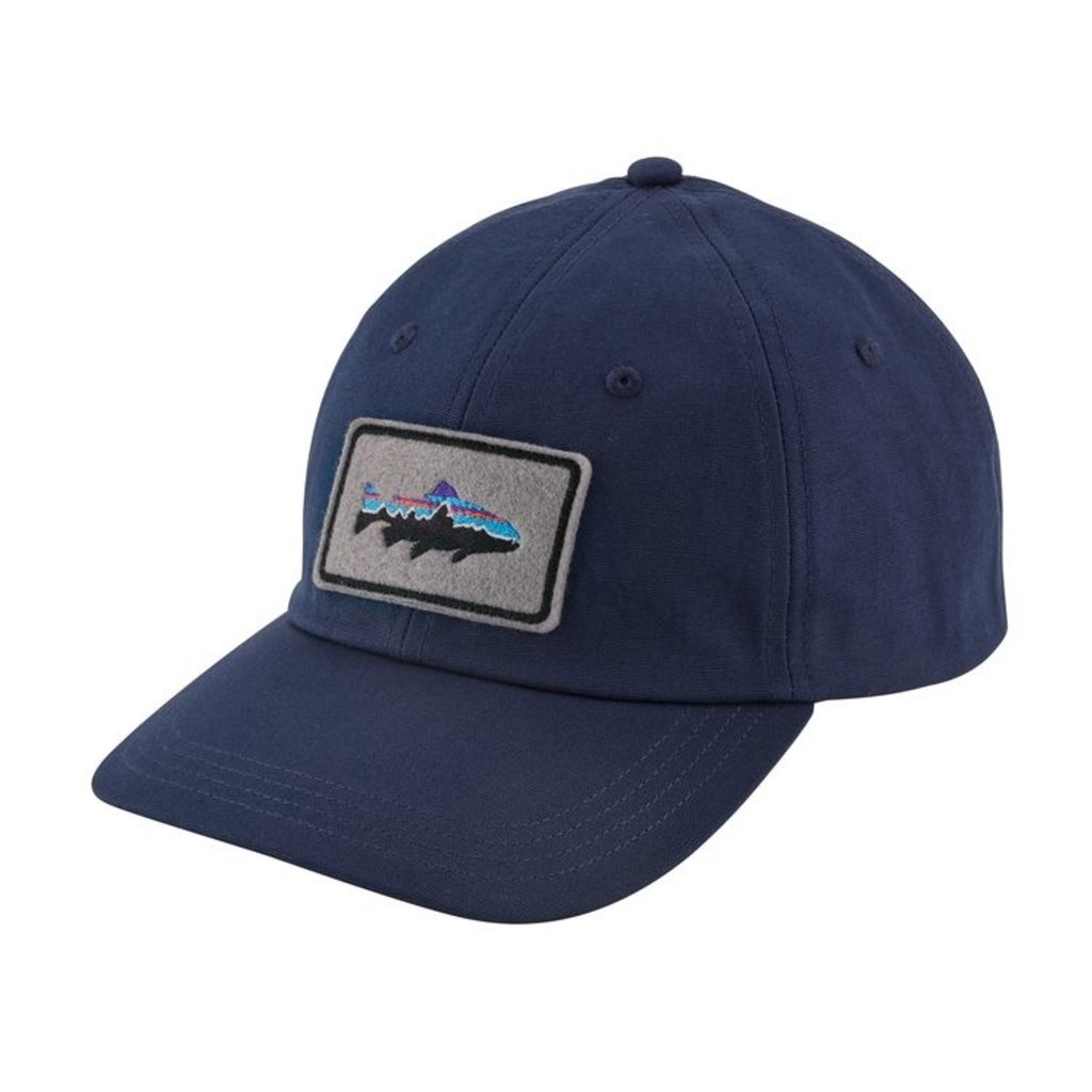Patagonia Patagonia Fitz Roy Trout Patch Trad Cap Classic Navy